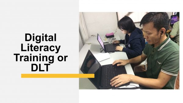 Cover image of Digital Literacy Training (DLT)