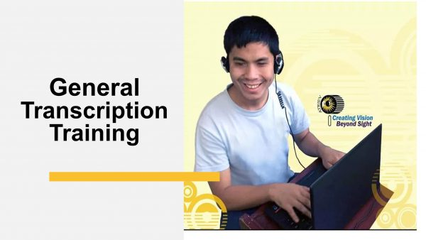 Cover image of General Transcription Training