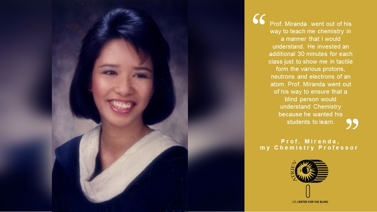 college graduation photo of Carol Catacutan